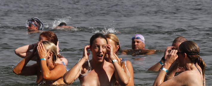 За лето милиция задержала пятерых нудистов на Минском море