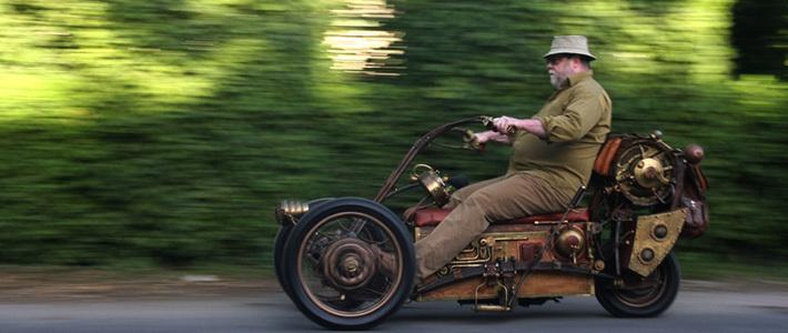 История одного мотоцикла: все началось с дубовой бочки