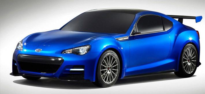 Концепт Subaru BRZ STI