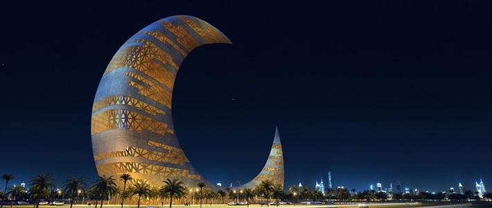 Небоскреб-полумесяц собираются построить в Дубае