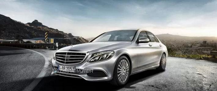 Новый Mercedes C-Class получил внешность в стиле S-Class W222