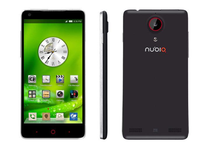 ZTE Nubia 5. Новый смартфон с экраном Full HD