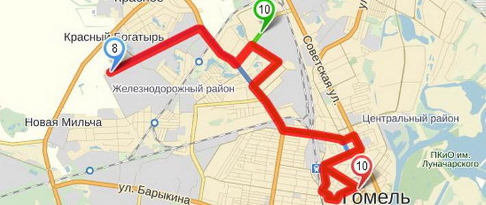 маршрутов регулярного