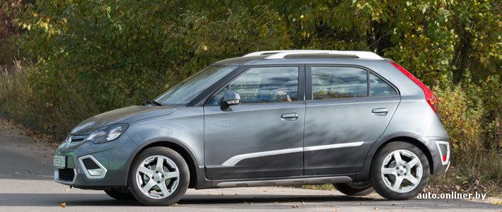 Тест-драйв: стоит ли MG 3 Xross 450 долларов в месяц?