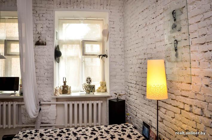 Стена под белый кирпич в квартире как сделать8