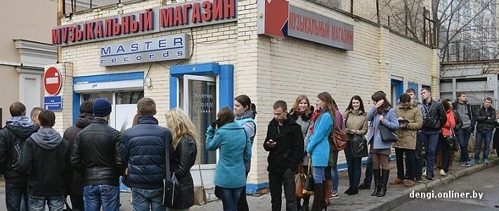 За первыми билетами на шоу Армина ван Бюрена в «Минск-Арене» выстроилась очередь