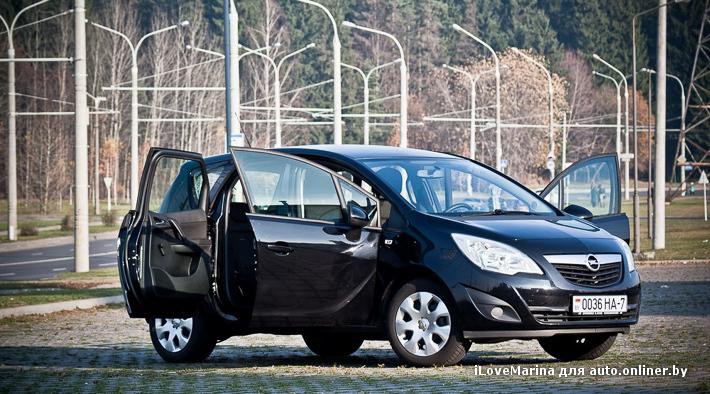 Opel Meriva B: компактвэн, а не кроха-малолитражка - Авто onliner.by