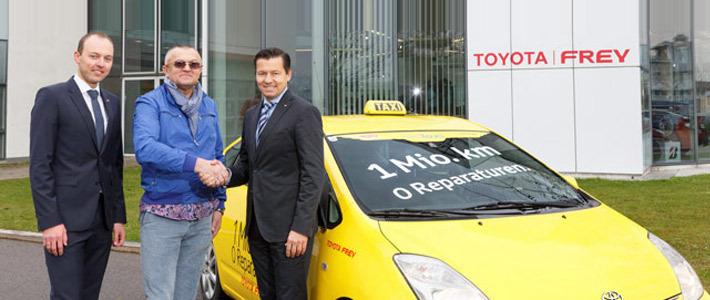 В Австрии автомобиль такси Toyota Prius без поломок проехал 1 миллион километров
