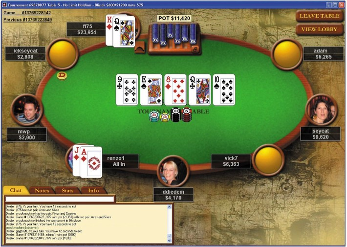 Poker фул тилт скачать app