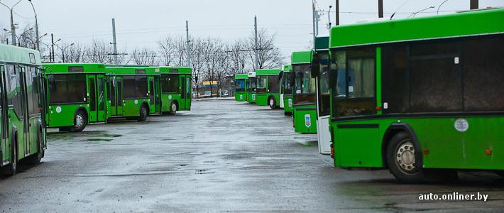 Минск закупит 100 автобусов и
