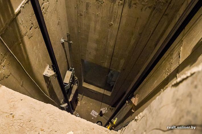 Монтаж лифта производится по