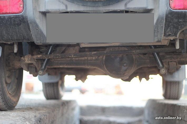 Автомобили с жесткой подвеской