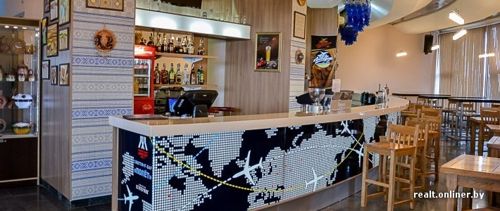 В Национальном аэропорту Минск открывается первый в стране споттинг-бар «Полет»