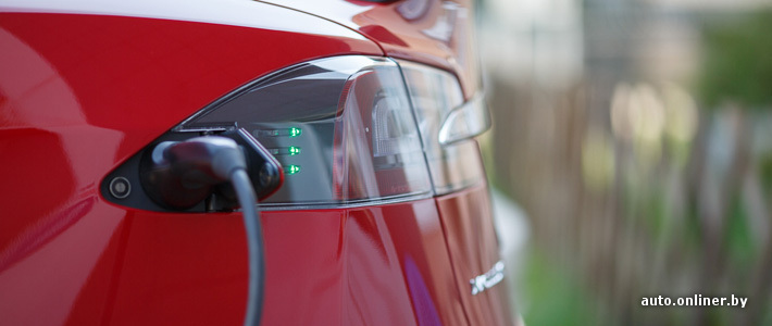 Все о зарядке Tesla Model S, или Менее $3 за 100 километров