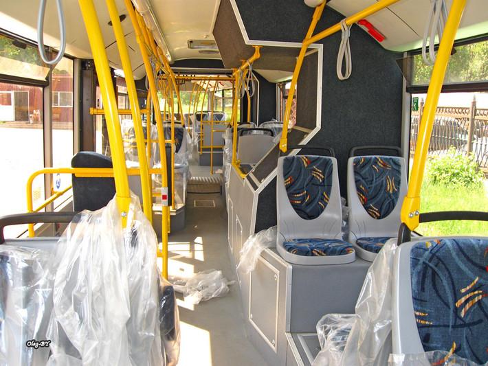 Сейчас на автобус наносят
