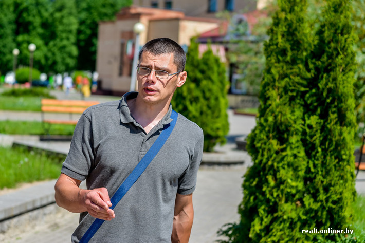 Максим приехал в Дрибин из латвийского города Саласпилс в 1991 году.