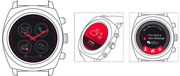 Geak Watch   первые круглые умные часы