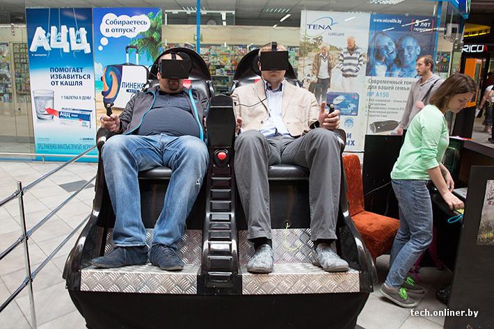 Аттракцион виртуальной реальности своими руками 44