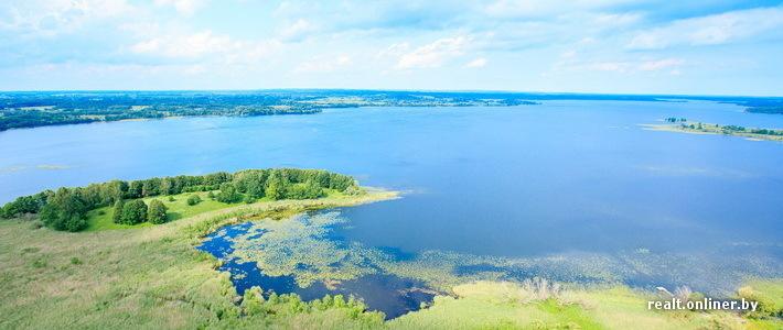 Фотофакт: Браславские озера с высоты птичьего полета