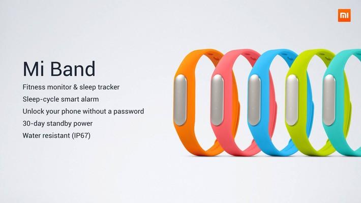Xiaomi Mi Band   фитнес браслет за $12