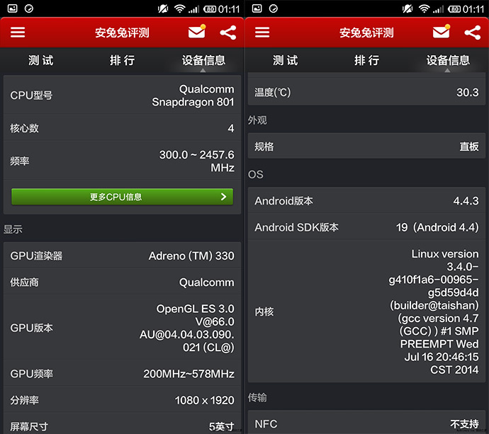 Xiaomi Mi4   результаты тестов и примеры фотографий