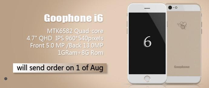 В Китае анонсировали клон iPhone 6 — GooPhone i6