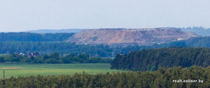Свалка под Минском: полигон «Северный» уже давно исчерпал свой потенциал, но продолжает принимать тонны мусора