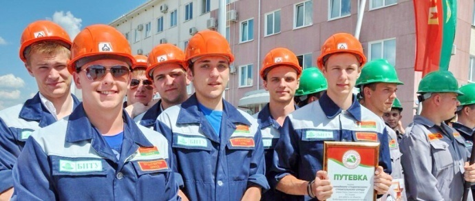 БРСМ: за полтора месяца студенты заработали на стройке АЭС в среднем 12—13 миллионов рублей