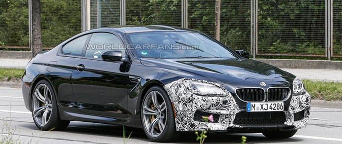 Рестайлинговый BMW М6 выехал на дороги общего пользования