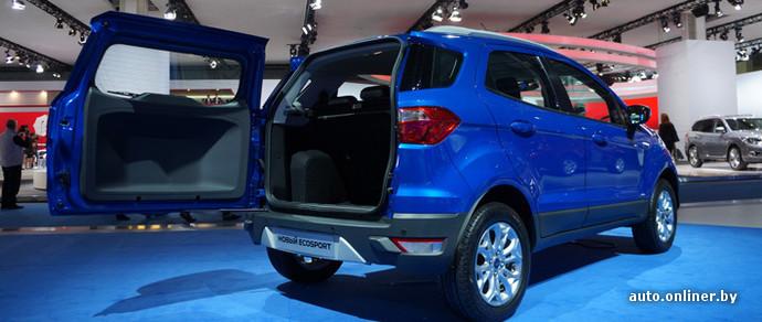 На автосалоне в Москве прошла премьера Ford EcoSport