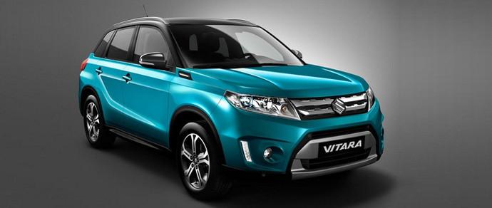 Suzuki показала новое поколение Vitara