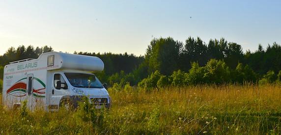 Тест-драйв с ночевкой в белорусском автодоме за 40 000 евро