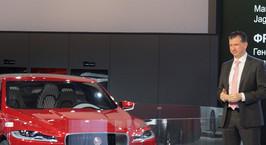 Франк Виттеманн рассказал Onliner.by про новое семейство LR Discovery, кроссовер Jaguar и самый быстрый в мире SUV