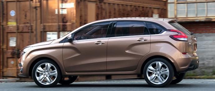 Россияне назвали цену кроссовера Lada XRAY