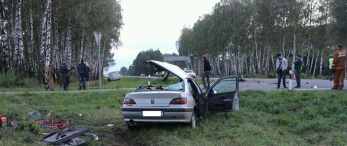 Водитель Iveco, протаранившего Peugeot с двумя детьми под Лидой, заключен под стражу