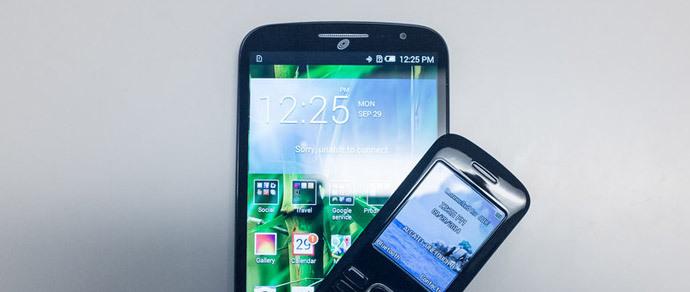 Alcatel выпустила «планшетофон» с небольшим мобильником «в нагрузку»