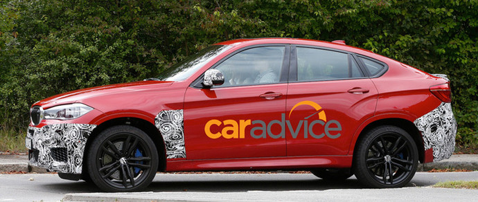 Новый BMW X6 M практически лишился камуфляжа