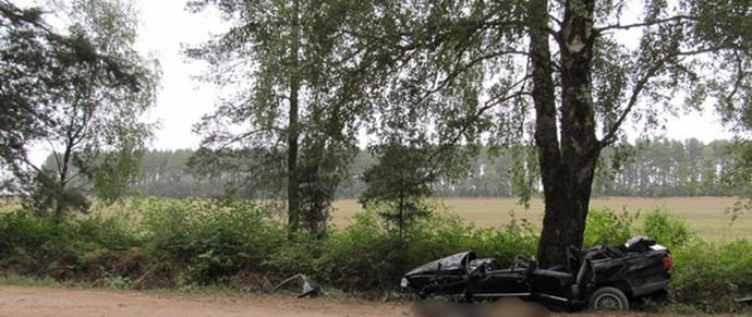 В Свислочском районе парень разбился на Audi на следующий день после ее покупки