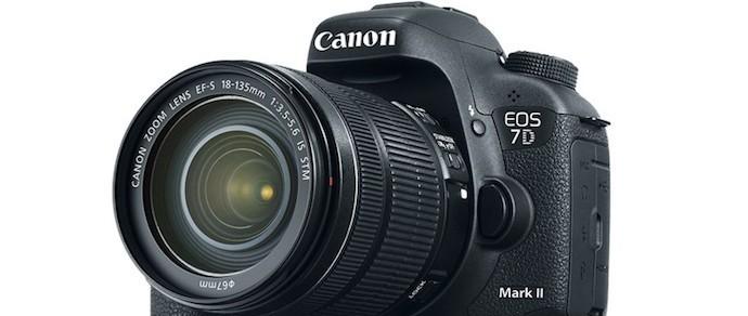 Canon представила зеркальную камеру EOS 7D Mark II