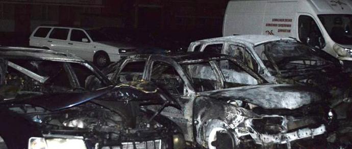 Несколько автопожаров зарегистрировано этой ночью в Минске
