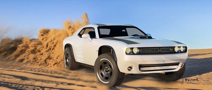 Из Dodge Challenger сделают внедорожник