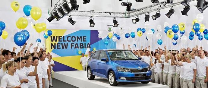 Чехи начали производство новой Skoda Fabia за месяц до премьеры