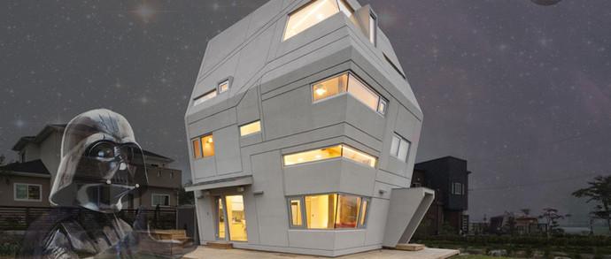 Империя атакует: в Южной Корее построили жилой дом, вдохновленный «Звездными войнами»