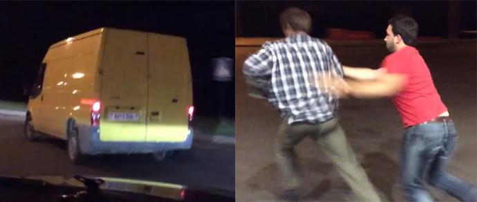 Минчанин преследовал нетрезвого водителя фургона и смог его задержать