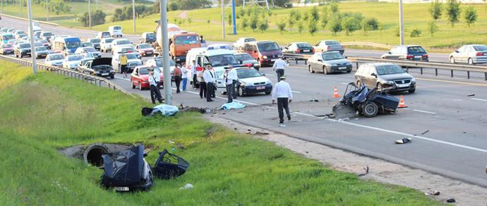 Водитель BMW, из-за которого на кольцевой погибли два человека, приговорен к пяти годам