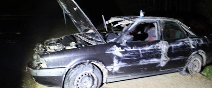Под Новогрудком водитель Audi не заметил попутную повозку