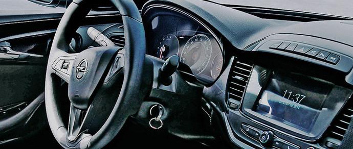 Салон нового Opel Astra лишится большого количества кнопок