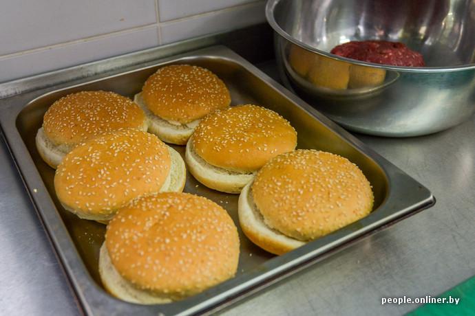 булочки для гамбургеров рецепт с фото как в макдональдсе пошагово