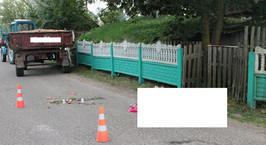 17-летний водитель трактора насмерть сбил мужчину в Гродненской области