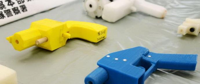 Японца посадили на два года за 3D-копии пистолетов